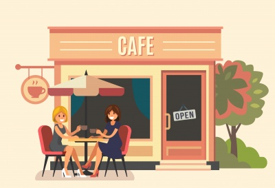 afbeelding cafe