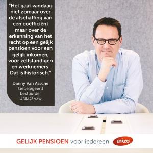 Visual gelijk pensioen